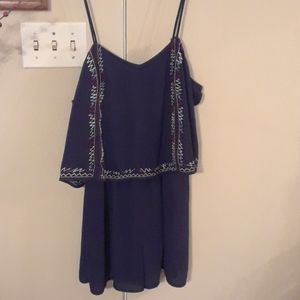 Navy Blue Romper Never been worn